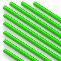 Палочки из пищевого пластика для шаров и сахарной ваты, Зеленый, 100 шт.