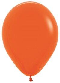 Шар (5''/13 см) Оранжевый (061), пастель, 100 шт.