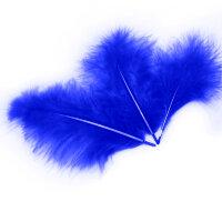 Перья, Синий, 10*15 см, 30 шт.