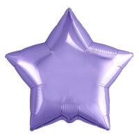 Набор шаров (9''/23 см) Мини-звезда, Сиреневый, 5 шт. в упак.