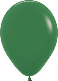 Шар (12''/30 см) Темно-зеленый (032), пастель, 12 шт.