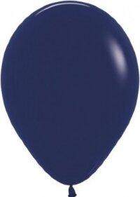 Шар (12''/30 см) Темно-синий (044), пастель, 12 шт.