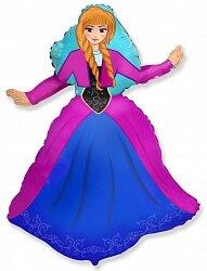 Шар (14''/36 см) Мини-фигура, Принцесса Алексия, 1 шт.